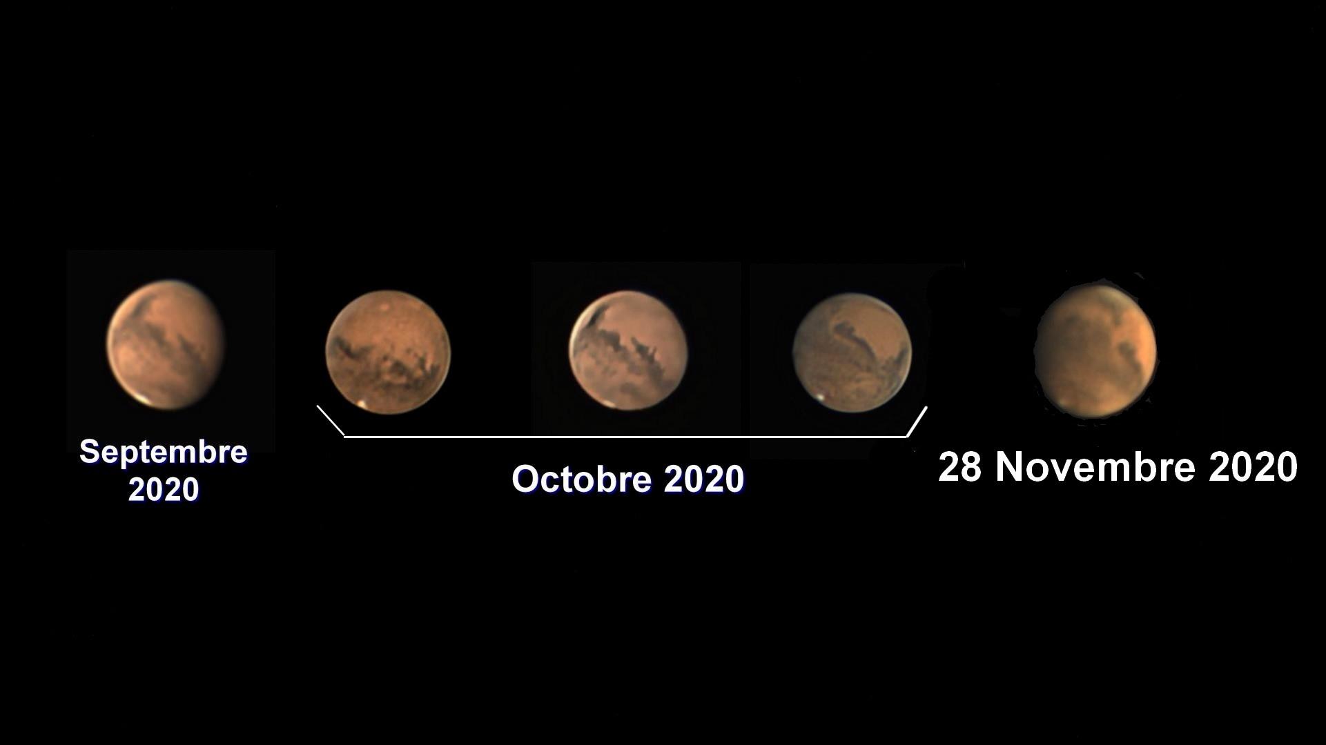 EVOLUTION DE MARS