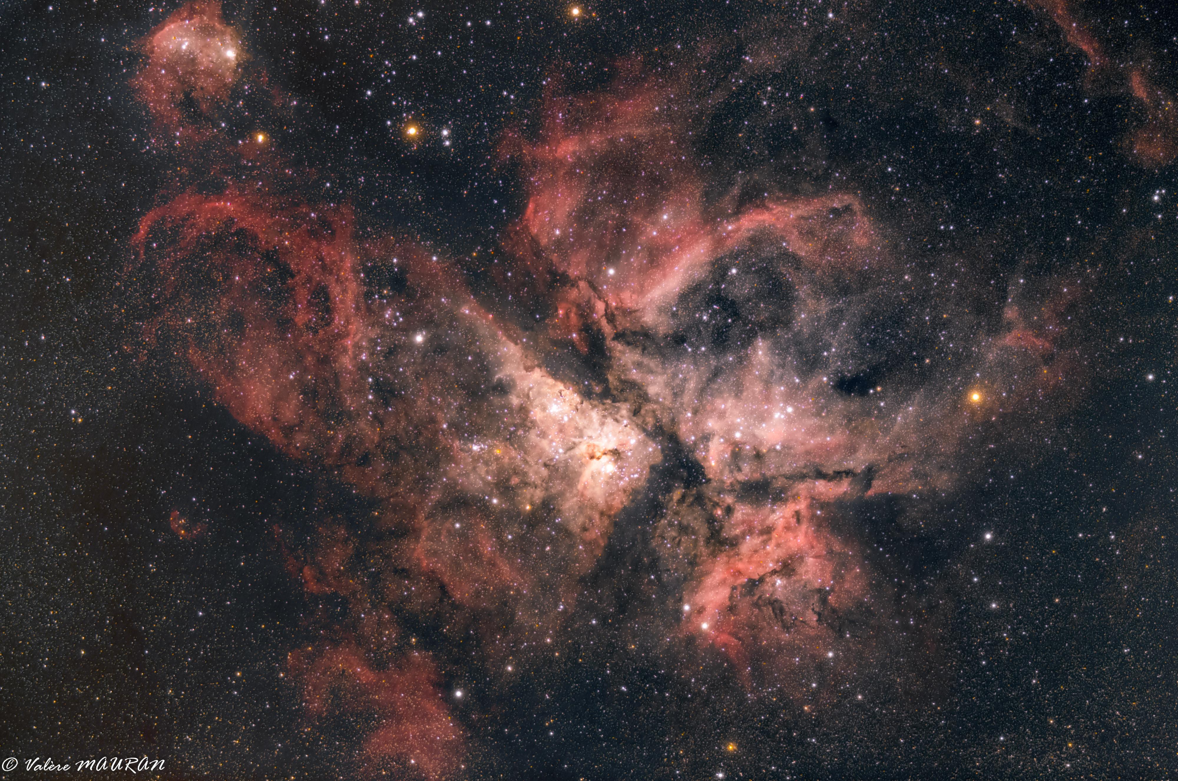 NGC3372 - Nébuleuse de la Carène - Île de la Réunion