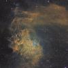 IC405, la Nébuleuse de l'Etoile Flamboyante