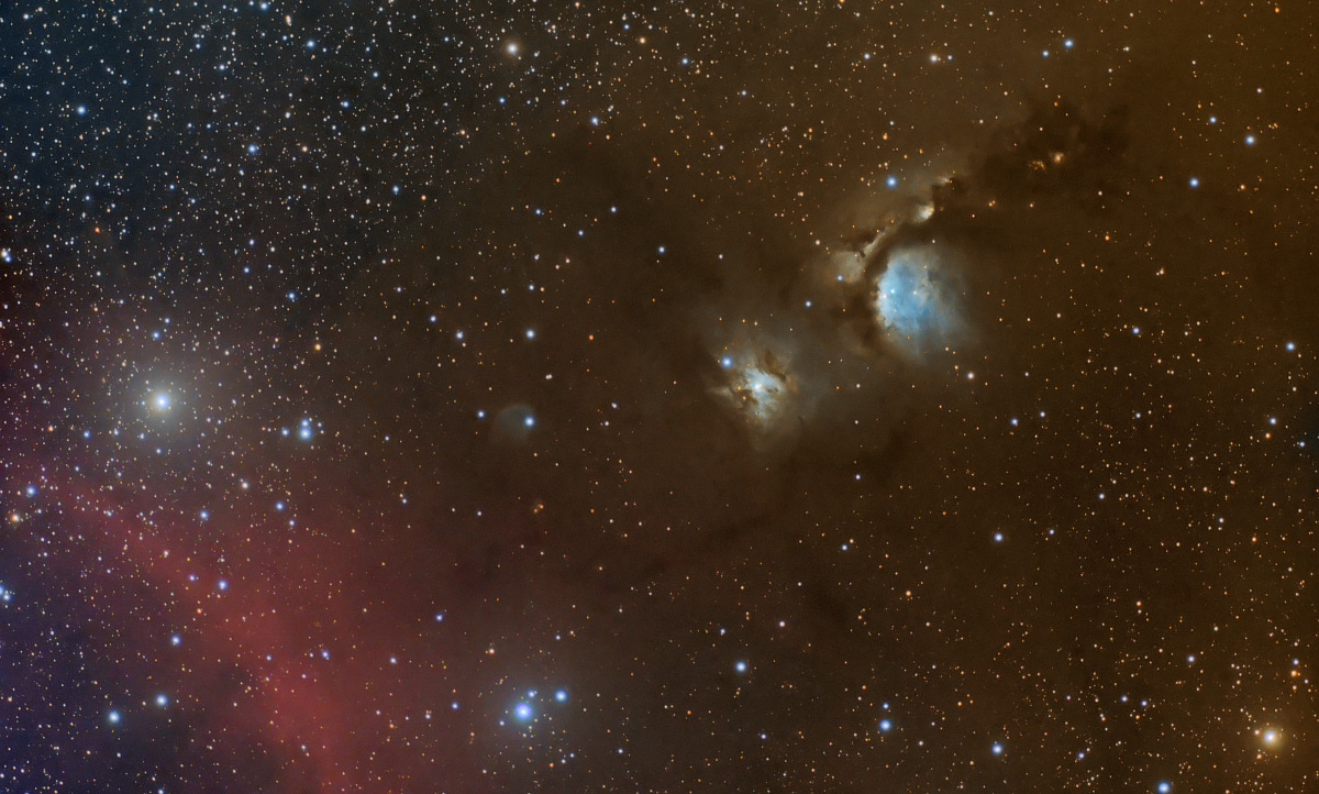 M78 et sa poussière