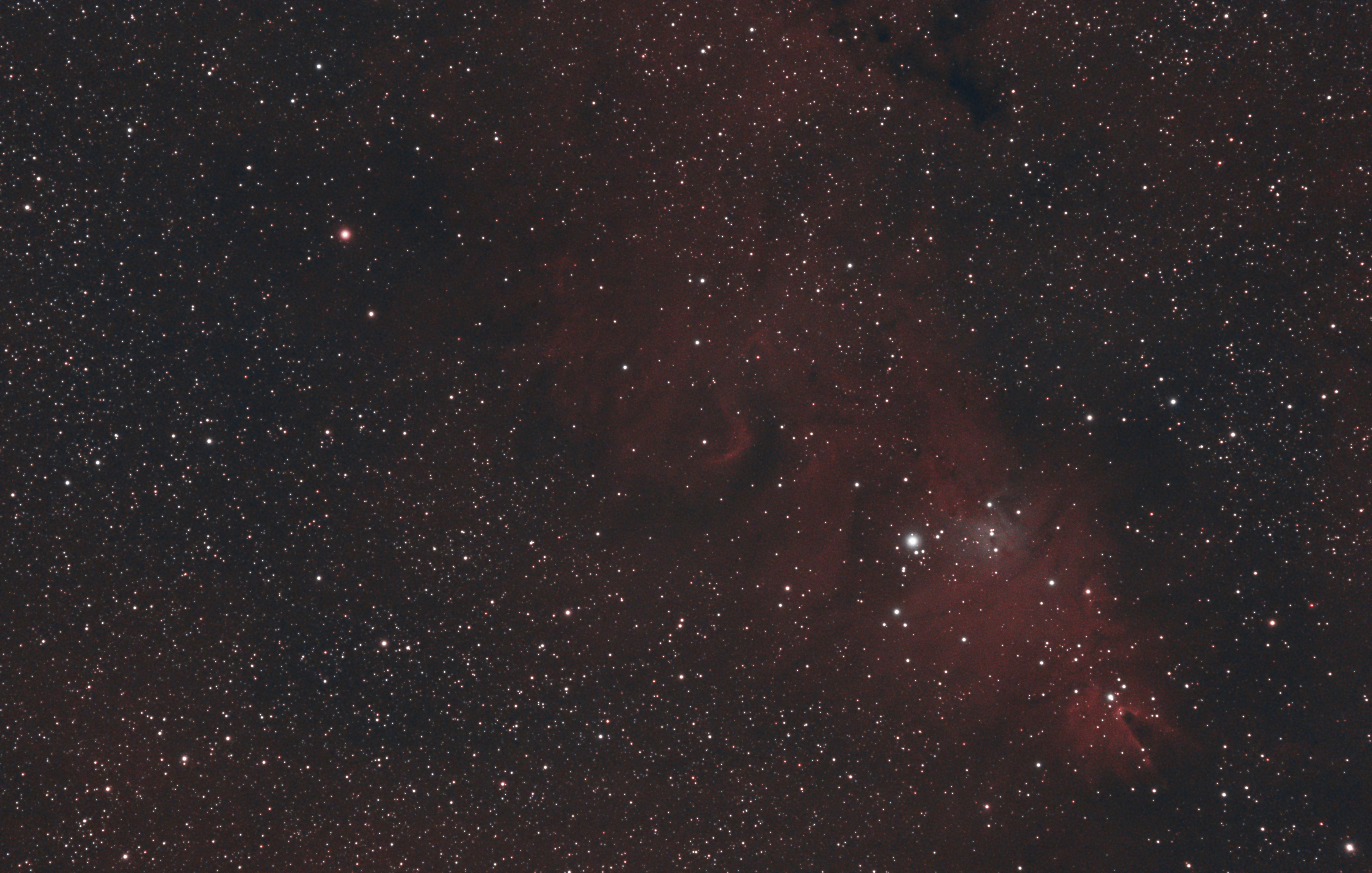 NGC 2264 La nébuleuse du cône