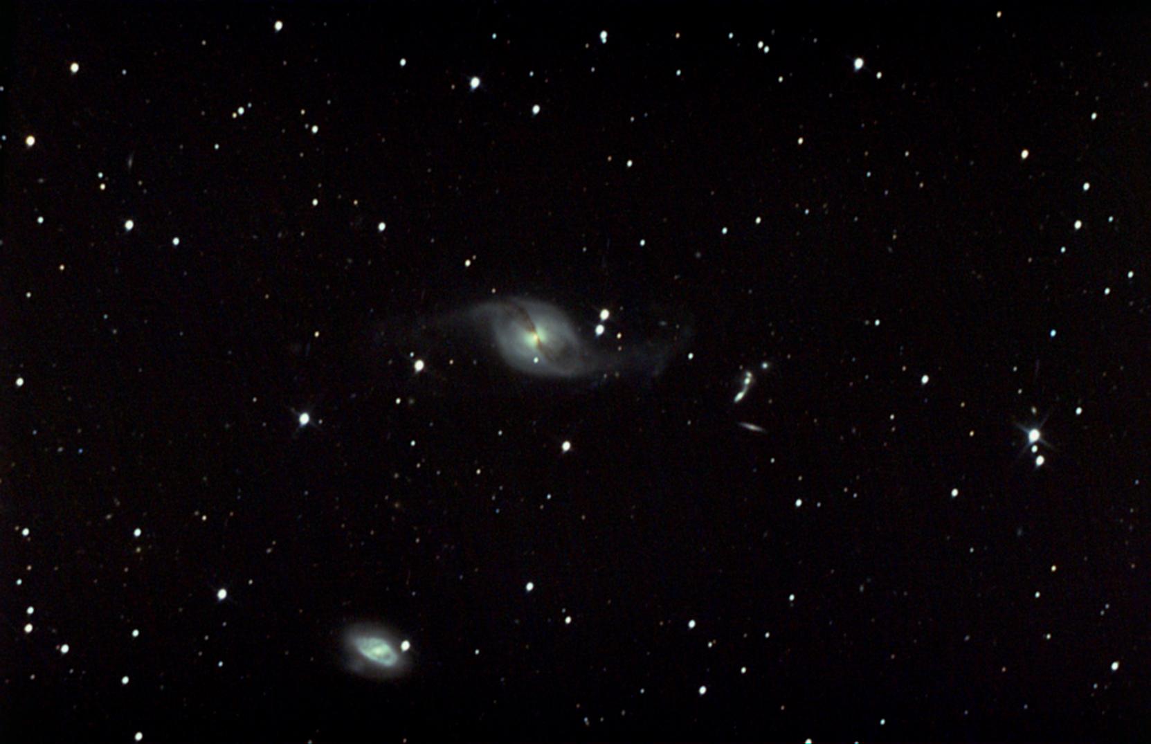 NGC3718 et Hickson Group n°56