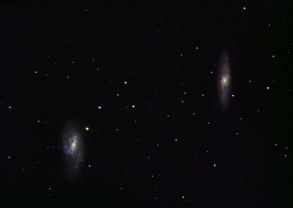 M65  M66 nuit du 6 au 7 fevrier 2021
