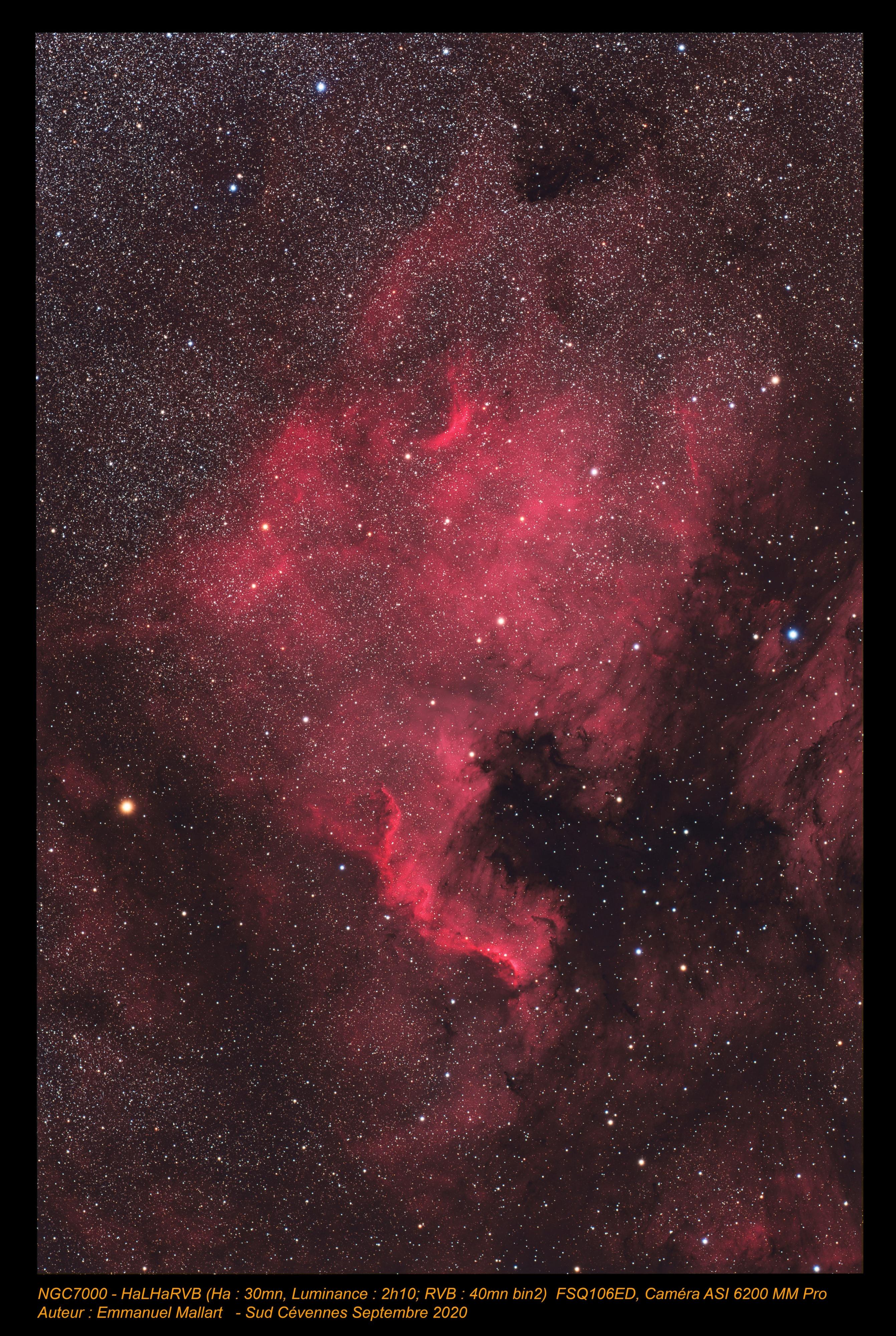NGC7000  HaLHaRVB