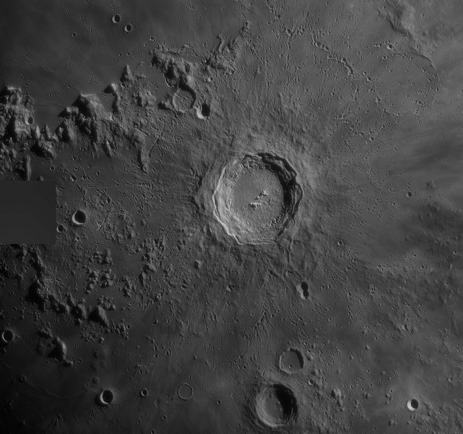 Le cratère Copernic du 230321(70%)
