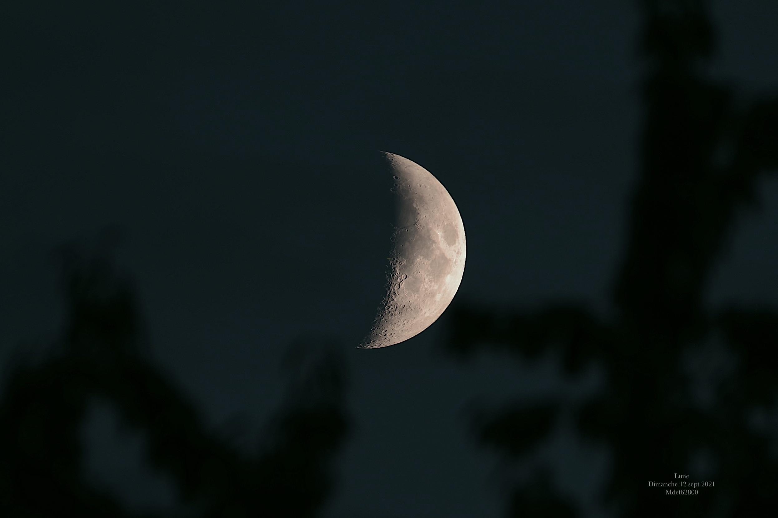Lune  12 sept  2021