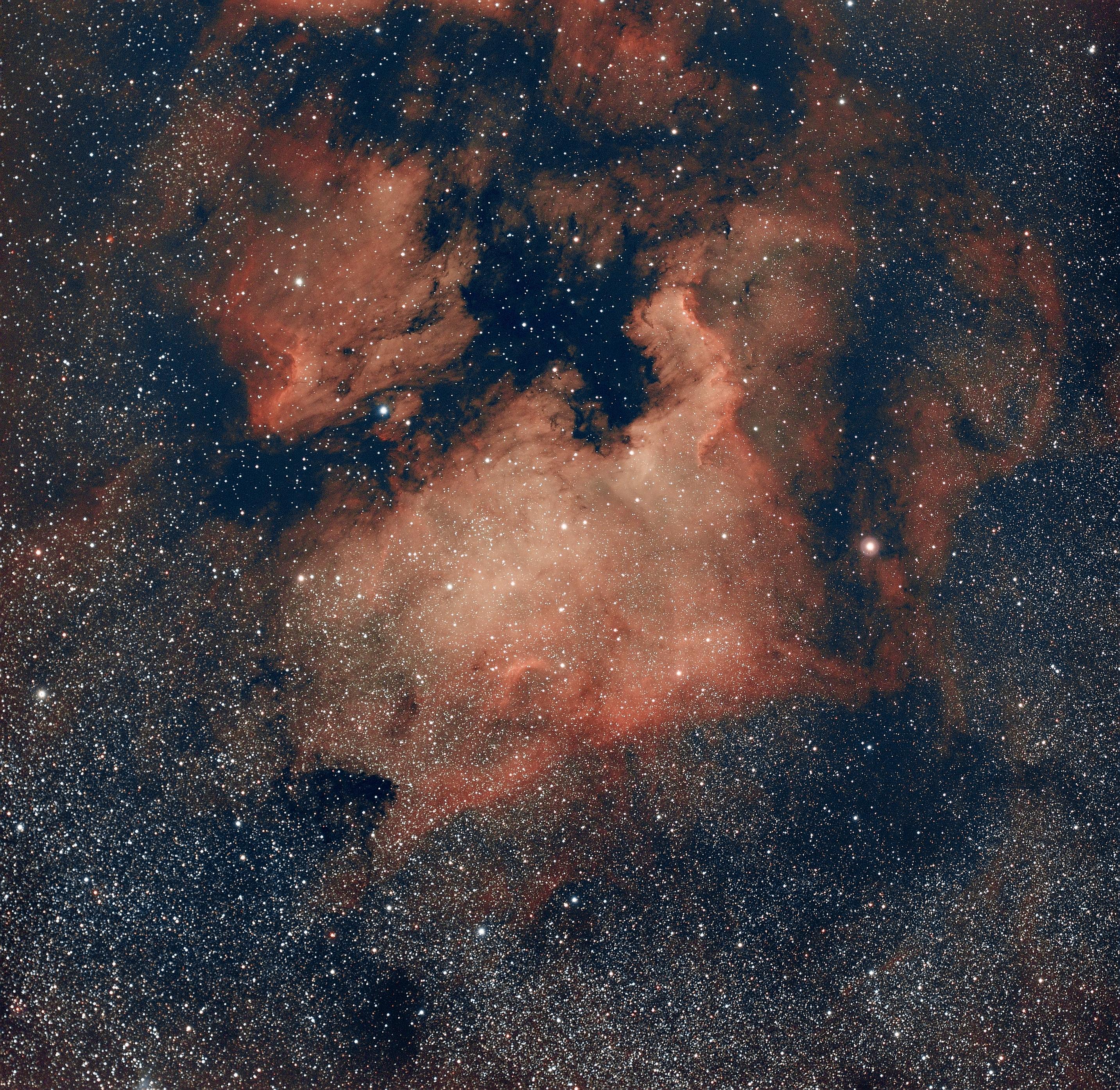 NGC7000 - 180 poses de 25s